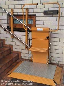 Schrägaufzug für Rollstuhlfahrer - Delta in Arnstadt