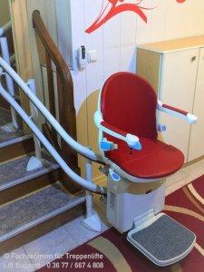 Treppenlift HC2000 - für kurvige Treppe in Hermsdorf bei Gera