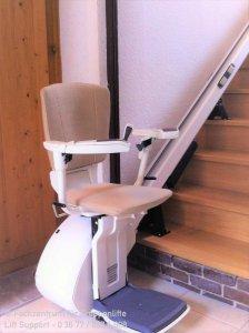 Sitzlift für gerade Treppen von ThyssenKrupp Access BDD in Leimrieth bei Hildburghausen
