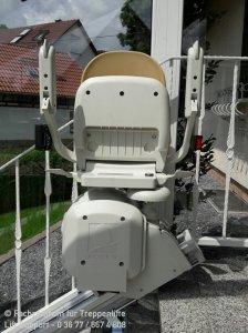Außenlift - Acorn Superglide 130 in Fladungen bei Meiningen