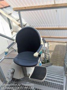 Handicare 1000 Outdoor für gerade Treppen im Aussenbereich in Eisenach