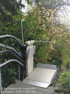 Plattformlift für Rollstuhlfahrer in Lichtenfels bei Coburg