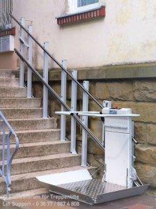 Delta Plattformlift für Rollstuhlfahrer in Königsberg in Bayern Franken