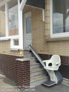 Thyssenkrupp Levant Homegilde Aussenanlage für gerade Treppen in Sonneberg