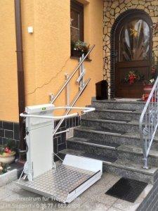 Plattformlift DELTA für Rollstuhlfahrer in Saalfeld an der Saale