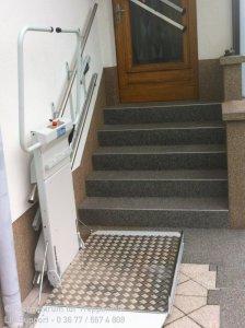 Delta Plattformlift für Rollstuhlfahrer in Brotterode bei Schmalkalden