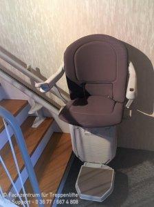 kurviger Treppenlift Stannah 260 Solus in Greußen bei Sömmerda